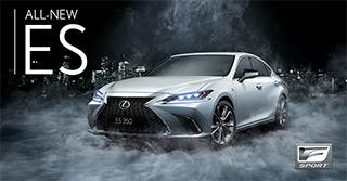 : The all-new Lexus ES 2019 F Sport